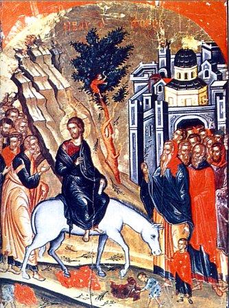 Вход Господень в Иерусалим_Вербное Воскресение